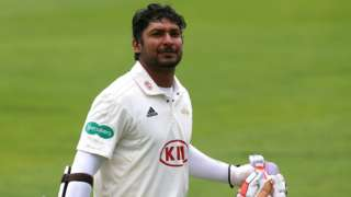 Kumar Sangakkara's sixth ton of 2017 makes this his best haul in an English summer, beating the five hundreds he scored for Surrey in 2015