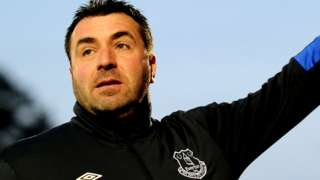 Everton caretaker manager David Unsworth