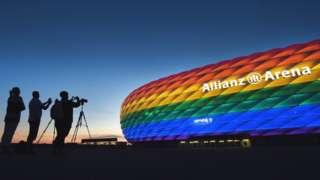 Стадион в Мюнхене