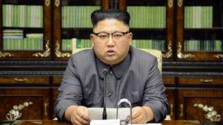 File photo of Kim Jong-un