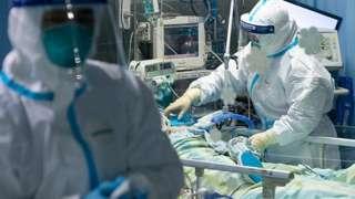 Paciente em Wuhan, na China, em janeiro