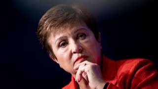International Monetary Fund Managing Director Kristalina Georgieva.