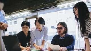 خواتین، عینک، جاپان