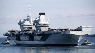 英国皇家海军伊丽莎白女王号(HMS Queen Elizabeth)