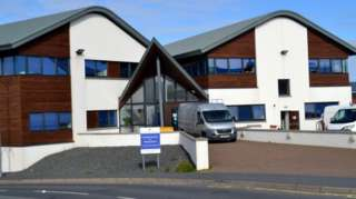 Headquarters of the Shetland Islands Council