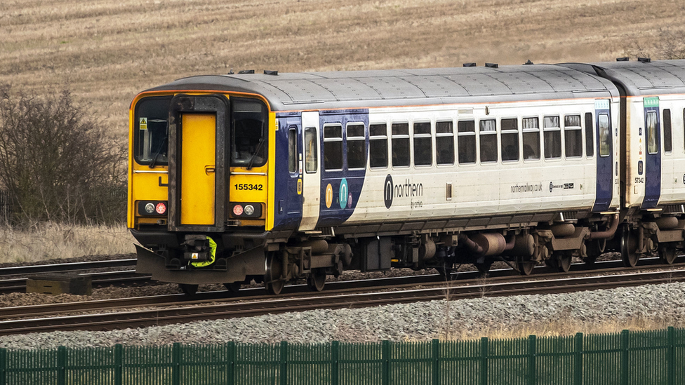 northern train in yorkshire