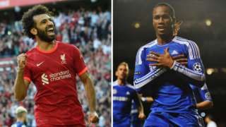 Mohammed Salah equal Didier Drogba goal record