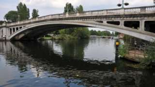 A third road bridge in Reading has been mooted for four decades and aims to ease congestion on Caversham Bridge and Reading Bridge (pictured)