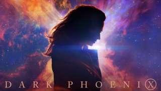 Jean Grey in the X-Men Dark Phoenix poster