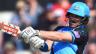 New Zealand's Hamish Rutherford has now made centuries in three of his first five matches for Worcestershire