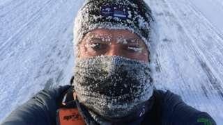 Roddy Riddle on 6633 Ultra marathon