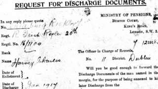 Request for discharge documents