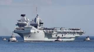 Markabka dagaalka ee HMS Queen Elizabeth