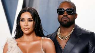 Kim Kardashian West and Kanye