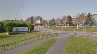 Loughborough University entrance