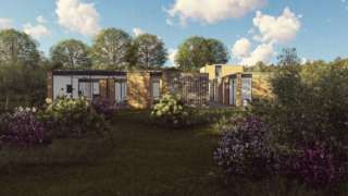 Plans for the holiday home