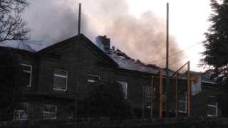 Bradford school building fire