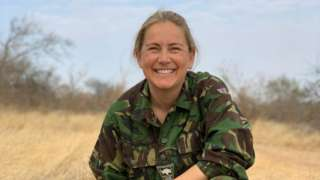 Alice Bromage, who served in Afghanistan as a major twice