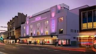 CGI of the new Globe Theatre, Stockton
