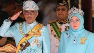 ملك وملكة ماليزيا
