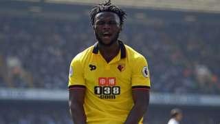 Isaac Success of Watford and Nigeria