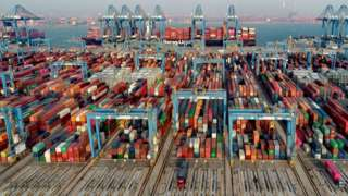 Chinese container terminal
