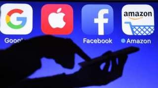Logos de tecnología.