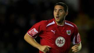 Bristol City defender Bradley Orr makes a run during the Coca Cola Championship game between Bristol City and Plymouth Argyle