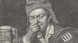 Anonymous 17th century illustration depicting the sense of smell