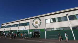Huish Park, home ground of Yeovil Town FC