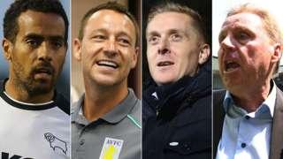 Tom Huddlestone, John Terry, Garry Monk, Harry Redknapp