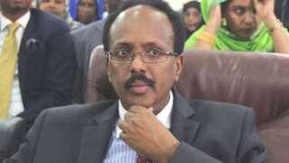 Rais Mohammed Abdullahi Farmajo wa Somalia
