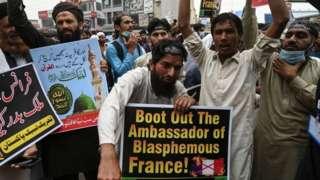 تحریک لبیک پاکستان، احتجاج