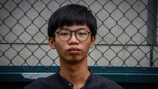 Tony Chung, Hong Kong pro-democracy student activist