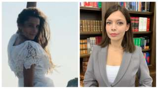 Composite image of Agnieszka Kranz(L) and Karolina Pawlowska