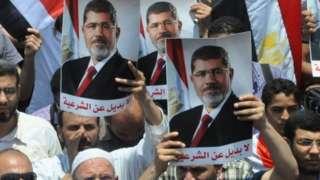 Pro-Morsi rally in Cairo (file photo)