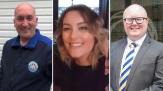 Stephen Wells, Cassie McNeill, Jonathan Topping