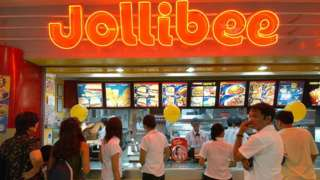 Jollibee restaurant in Manila