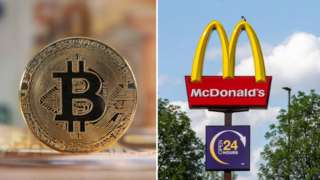 Cryptocurrency and McDonald's