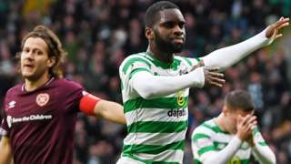 Celtic v Hearts