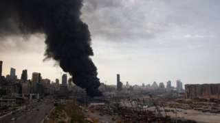 Пожежа в Бейруті
