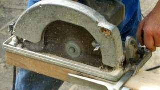 File photo of a circular saw