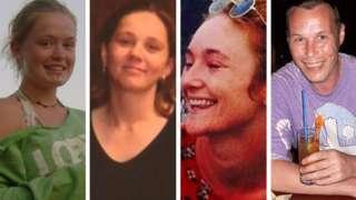 Scarlett Keeling, Denyse Sweeney, Danielle McLaughlin, Martin Neighbour