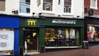 McDonald's in Shrewsbury