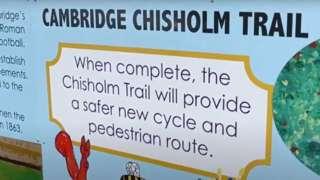 Cambridge Chisholm Trail mural