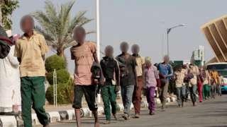 Wavulana waliachiliwa Alhamisi katika mji wa Tsafe katika jimbo la Zamfara