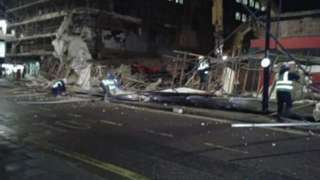 Odeon building collapse