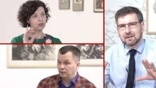 Олеся Островська-Люта, Тимофій Милованов, Вадим Карп'як