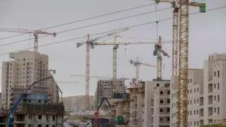 Construction at the Har Homa settlement in East Jerusalem (27 December 2016)