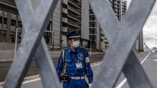 Олимпийская деревня в Токио